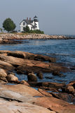Prospect Harbor Light Royalty Free Stock Image