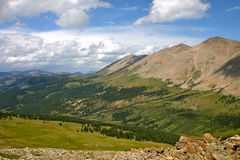 Prospect Mountain Mosquito Pass. Prospect Mountain located in the high mountains of Colorado near Mosquito pass close to the town of Leadville Royalty Free Stock Photo
