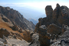 The prospect of the Tien Shan mountains Stock Images