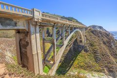 Bixby Bridge Big Sur Stock Photography