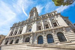 Porto City Hall Stock Photo