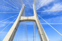 Vasco da Gama Bridge Royalty Free Stock Image