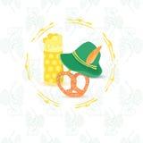 Prospecto de Oktoberfest sin el texto Imagenes de archivo