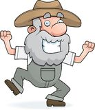 Prospector Dancing Royalty Free Stock Photo