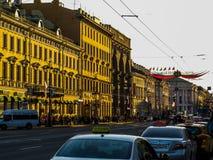 Prospekt de Nevskiy Fotografía de archivo