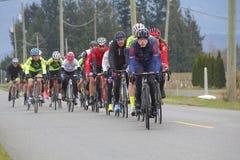 Prospera GranFondo 2016 Jeździć na rowerze rywalizacj Zdjęcie Stock