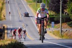 Prospera-Tal Gran Fondo Radfahren-Rennen Stockbild