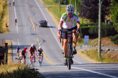 Prospera Valley Gran Fondo Cycling Race Stock Image