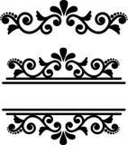 Prospere el marco del monograma, ornamento decorativo del vintage, divisor ornamental libre illustration