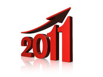 Prosperidad 2011 Fotografía de archivo
