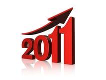 Prosperidade 2011 ilustração do vetor