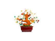 Prosperity Charm Gem Tree Stock Images