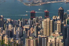 Prosperity City of Asia - Hong Kong Stock Images