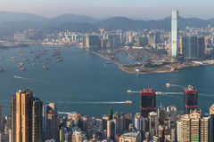 Prosperity City of Asia - Hong Kong Royalty Free Stock Photo