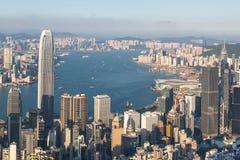 Prosperity City of Asia - Hong Kong Stock Photo