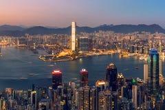 Prosperity City of Asia - Hong Kong Stock Photography