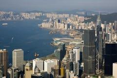 Prosperity City of Asia - Hong Kong Royalty Free Stock Image