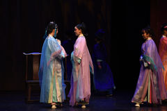 Prosperity makes friends-back to the palace-Modern drama Empresses in the Palace Stock Photo