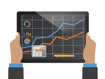 Prosperity and planning. Accounting and planning as a business concept Stock Photo