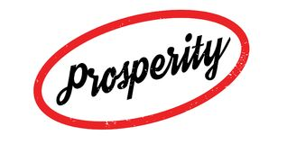 Prosperity rubber stamp Royalty Free Stock Images