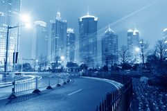Prosperous city lighting. Eastphoto, tukuchina, Prosperous city lighting, Transportation, Bridge Royalty Free Stock Photo