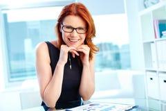 Prosperous entrepreneur royalty free stock photo