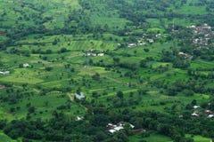 Prosperous Indian Farmland Landscape-I stock images