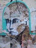 Prosperuje miastowa graffiti i ulicy sztuki scena w Lisbon, Portugalia, 2014 Zdjęcie Royalty Free