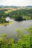 Prospettiva del fiume Immagini Stock