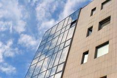 Prospettiva dell'edificio per uffici Fotografie Stock