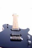 Prospettiva della chitarra elettrica Immagini Stock