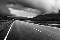 Prospettiva della strada immagine stock