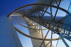 Prospettiva della torretta Fotografia Stock