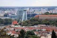 Prospettiva di Bratislava Fotografie Stock