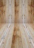 Prospettiva di legno fotografia stock