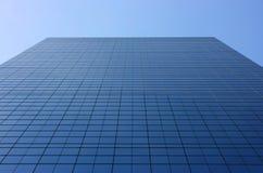 Prospettiva di vetro della facciata Fotografie Stock Libere da Diritti