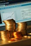 Prospettiva finanziaria Fotografia Stock