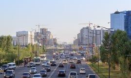 Prospettiva SaryArka Astana, Kazakhstan immagine stock libera da diritti