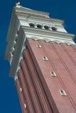 Prospettiva veneziana della torretta immagini stock libere da diritti