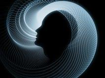 Prospettive della geometria di anima Fotografia Stock