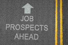 Prospettive di job Immagini Stock Libere da Diritti