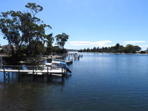 Prosser River, Orford, Tasmania Royalty Free Stock Images