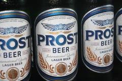 Prost啤酒 图库摄影