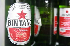 Prost啤酒 库存照片