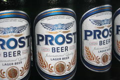 Prost beer Stock Photography