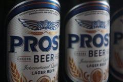 Prost piwo obraz royalty free