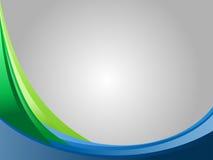 prosta błękitny tło zieleń Zdjęcie Stock