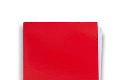 Prosta czerwona falcówka Zdjęcia Stock