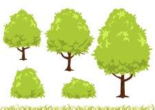 Prosta drzewna ilustracja Zdjęcia Royalty Free