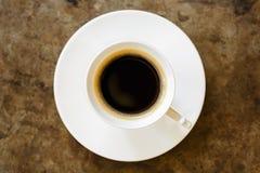 Prosta filiżanka kawy Zdjęcia Stock
